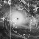 Severe TC Monica - Estimated Pressure 876.9hPa